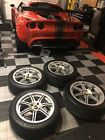 Lotus Elise Exige Genuine OEM LSS Wheels And Tires W Center CapsI WILL NOT SHIP