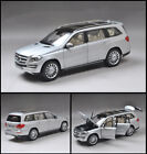 Original 118 Mercedes Benz GLS 500 SUV 2016 Diecast Car Model Silver Collection