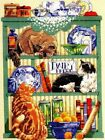 CAT Counted Cross Stitch Kit CATS IN THE KITCHEN tiger siamese RETIRED NEW