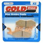Front Disc Brake Pads for Kawasaki EL252 Eliminator 252 2001 250cc  By GOLDfren