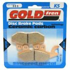 Rear Disc Brake Pads for Keeway Superlight 125 2008 125cc  By GOLDfren