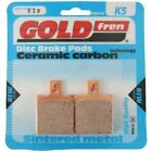 Rear Disc Brake Pads for Ducati Monster 800 S2R Dark 2006 802cc By GOLDfren