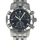 Tissot T17148653 T-Sport PRS200 38mm Quartz Chronograph Black Dial Mens Watch