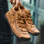 Mens Winter Snow Warm Cotton Shoes Non slip High Top Boots Sneakers Big