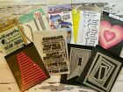 Stamps and Dies New and Gently Used You Choose Paper Smooches Ellen Hutson