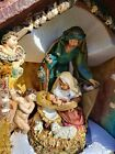 DEPARTMENT 56 LARGE 1999 LIGHTED NATIVITY NICHE W ORIGINAL BOX