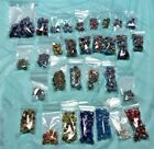 Large Lot of beautiful glass beads Lampwork blown glass Trade beads canes