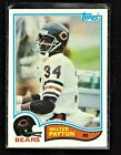 Walter Payton Football Cards, Rookie Card and Autograph Memorabilia Guide 9