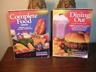 WEIGHT WATCHERS 2001 Winning Points COMPLETE FOOD  DINING OUT COMPANION Books