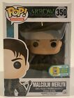 Funko Pop Arrow Malcolm Merlyn SDCC 2016 Exclusive w Protector
