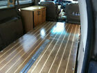 Camper Van Interior Conversion universal Folding Bed 3 x 6 and Cabinet
