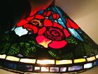 Stained Glass Lamp Shade, Tiffany Reproduction, Century Studios 16