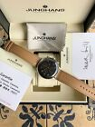 New Junghans Max Bill Chronoscope Day/Date 027/4501.01 Anthracite