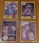 1990 + 1991 KEN GRIFFEY JR KENNER SLU STARTING LINEUP ROOKIES +2ND YEAR NM-MINT