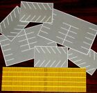 Z Scale Parking Lot and Wood Fence Assortment 1 220