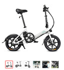 14 Inch Folding Power Assist Electric Bicycle Moped E Bike 250W Brushless Motor