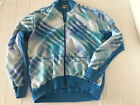 Gonso Dunova Wool Blend Proctor Cycles Cycling Jacket Sz M Blue