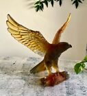 Daum Limited Edition Sea Eagle Pate de Verre 11 Wingspan Mint with Box