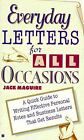 Everyday Letters for All Occasions by Jack Maguire