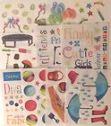 Creative Memories ANIMALS CAMPING FOOD Stickers ALL Discontinued