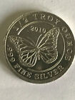 Monarch Precious Metals 1 2 oz Silver Round Monarch Butterfly