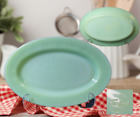 Vintage FIRE-KING Oven Ware Made In USA JADEITE 9.75