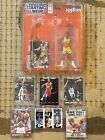 (6) 1996 KOBE BRYANT ROOKIES AND 1998 STARTING LINEUP FIGURE LOT!!!