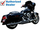 Black Thunderheader 2 Into 1 Exhaust System Pipe System 2017 2021 Harley Touring