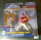 NEW 2000 STARTING LINEUP #2 JIM EDMONDS EXTENDED SERIES MLB ACTION FIGURE