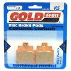 Front Disc Brake Pads for Kymco Grand Dink 250 2002 250cc  By GOLDfren
