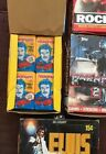 LOT OF 5 VINTAGE WAX BOXES*JAWS 2*ELVIS*ROCKY II*MAGNUM P. I.*ROBOCOP*HIGH GRADE