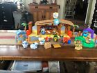 Fisher Price Little People Music Light Nativity Set Three Wise Men Lil Shepherds
