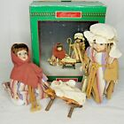 Christmas Around World Child Is Born Figure House Lloyd Nativity Dolls Porcelain