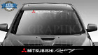 Windshield Decal Sticker Banner For Mitsubishi Racing Evolution Lancer Evo