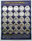 1968 Sunoco/DX Series 1 & 2 Antique Car Coin Collection Franklin MInt