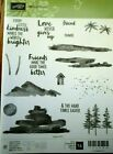 Stampin Up Waterfront Stamp Set Retired New Excellent