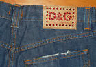 Vintage New Without Tags D  G Dolce  Gabbana Jeans Size 28