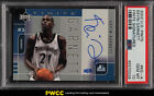 2002 Upper Deck Finite Signatures Kevin Garnett AUTO 25 #KG-A PSA 10 GEM (PWCC)
