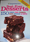 Weight Watchers Best Ever Desserts Cakes Pies Cookies Bars Breads