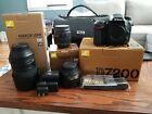 Nikon D7200 242 MP Digital SLR Camera Bundle Great Condition