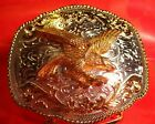 BIG  EXTRA HEAVY WELL MADE Western Unmarked EAGLE BELT BUCKLE