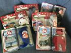 6 McDonalds Ty Beanie Baby Lot Lefty Righty The End Osito
