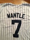 Mitchell & Ness 7 #7 Mickey Mantle Throwback 1951 Jersey Cooperstown Colec 3X 54