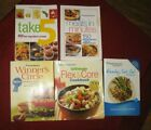 WEIGHT WATCHERS LOT OF 5 COOKBOOKS GREAT RECIPES TO HELP YOU LOSE WEIGHT LOOK