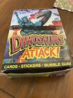Topps DINOSAURS ATTACK - 1988 Full Box 48 Sealed Packs With Poster ...! 😆