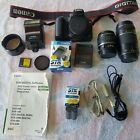 Canon EOS 20D 82MP Digital SLR 35 105 100 300mm Lens Set Exc+++ w Strap 462