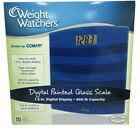 Weight Watchers Digital Scale 400 LB Capacity 118 Wide Blue New