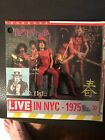 New York Dolls - Live In NYC - 1975 Red Patent Leather CD 1984 7 72596-2