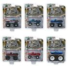 KINGS OF CRUNCH SERIES 6 SET OF 6 MONSTER TRUCKS 1 64 DIECAST GREENLIGHT 49060