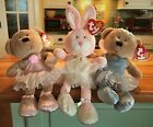 TY Beanie Baby Ballerinas: Pirouette, Pique & Fairydust: Mint with Tags. 2006